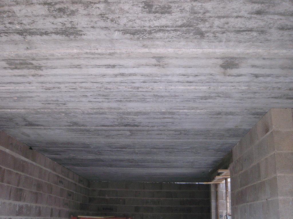 Plancher dalle alvéolaire sur sous-sol